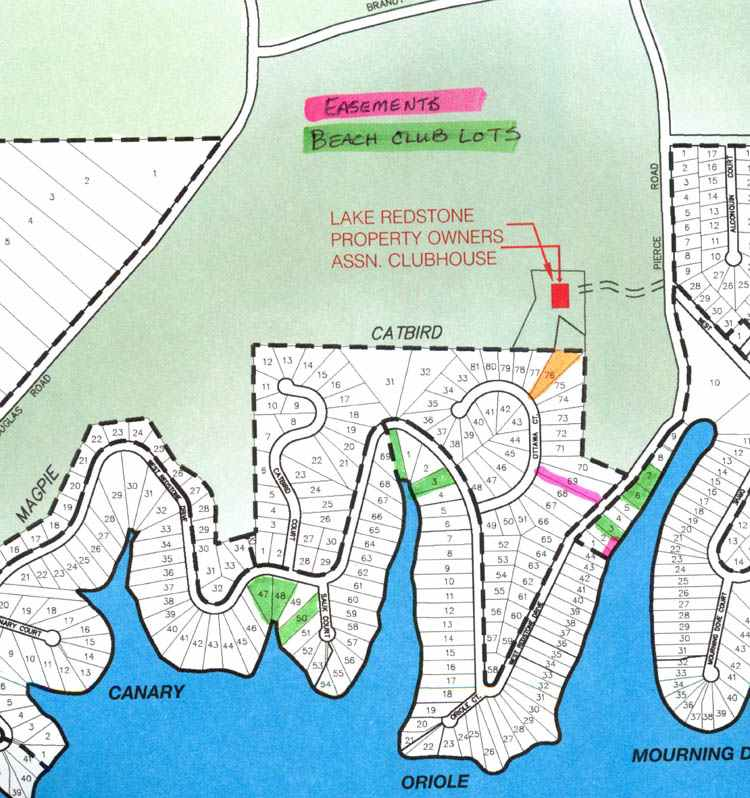 Catbird 76 Lake Redstone Offshore Building Site